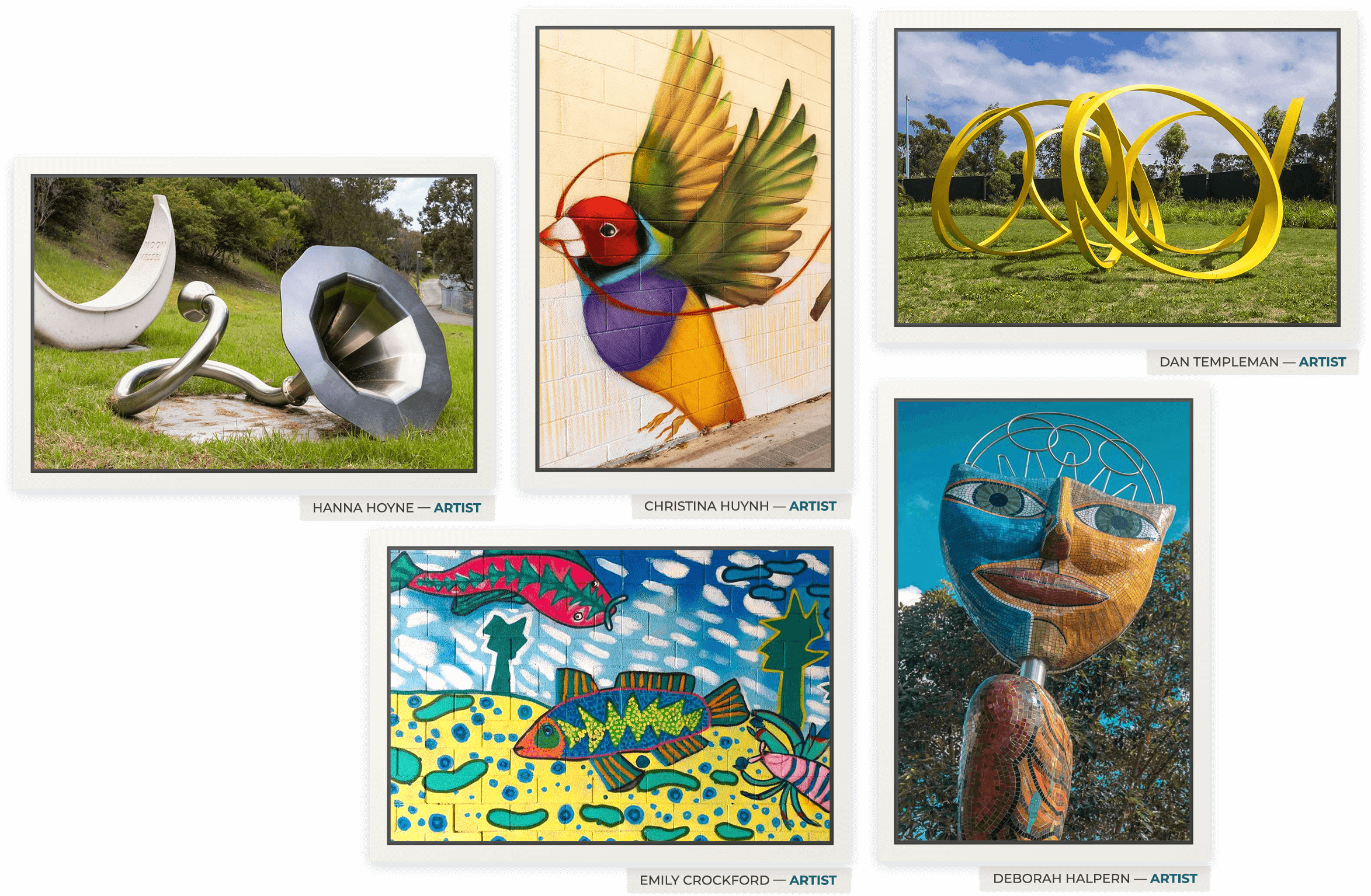 Canal to Creek Prize art competition example artworks